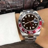 Hot sale Ceramic Bezel Mens Mechanical Stainless Steel 2813 Automatic Movement Watch Sports Self-wind men Watches Fashion Wristwatches