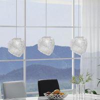 Adeeing Ice Cube Şekli 40 W Rock Bar Otel Aydınlatma için LED Kolye Lamba Tavan Avize Led ışıkları