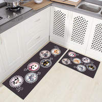 High Quality Rectangle Anti- skid Kitchen Room Carpet Beside...