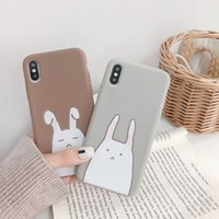 Smart2019 Lovely Leveret Soft Apple Xs Max / xr Aplica Hand Shell Iphone8plus / 7p / 6s Defense Fall Woman Fund