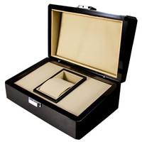 De lujo de calidad superior reloj PP Marca original caja de papeles tarjeta de madera cajas de regalo bolso 22 CM * 18 CM para Nautilus Aquanaut 5711 5712 5990 5980 reloj