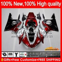 Body Kit For YAMAHA YZF600 YZF 600 R 6 600CC pearl red hot Y...