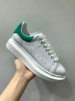Designer Men women Shoes top quality real leather Sneakers c...