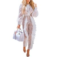Sexy Lace Jumpsuits for Women 2018 Rompers Womens Jumpsuit R...