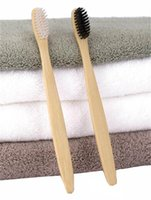 Nouveau mode Bambou Brosse à dents Couronne EnvironmentaTongue Cleaner dents prothétiques Voyage Kit brosse à dents MADE IN CHINA GRATUIT DHL Can OEM LOGO