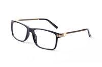 Nouvelle marque de mode conception optique lunettes objectif clair Femelle Lunettes de lecture ordinateur anti rayonnement Lunettes oculos de sol avec la boîte