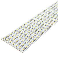 Superheller heller heller starrer LED-Streifen DC12V 100 cm 72LED SMD 5050 Aluminiumlegierung PCB LED-Streifen-Licht für Schrankschmuck-Anzeige