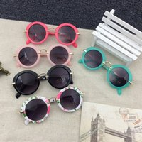 Hot Girls Boys Fashion Sunglasses Round Kids Sunglasses Chil...