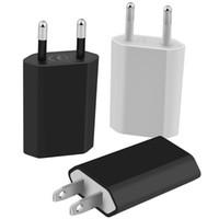 Европейского USB Power Plug адаптер стена зарядное устройство ЕС для Iphone для Samsung LG Huawei Бесплатной доставки