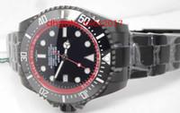 """مصنع VR VR Sea Cyleller Black Dial مع علامات جولة """"Ember"""" Graphic Black Ceramic Dibs Bezel Automatic Mobile Men's Sport Watch"""
