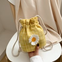 Beach small bag female 2020 new one- shoulder small daisy fem...