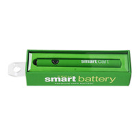 Smart Smart Carts Preriscaldamento Batteria intelligente Preriscaldamento Vape penna regolabile 380mAh Variabile Voltage Fit 510 Cartuccia PK Max LO Pen