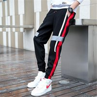 Size Loose Trackpants Overalls Pants Mens Street Style Hip Pop Casual Trousers Designer Summer Mens Harem Thin Cargo Pants Fashion Plus