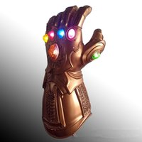 Infinity Gauntlet Gloves Prop LED Gloves PVC Toys Deluxe Tha...