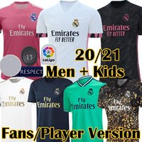 2020 2021 New Real Madrid 4th Fans Player Version HAZARD Soc...