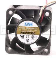 Venta por mayor AVC DB04028B12U DB04028B12H DB04028B12S 4CM4028 12V ventilador de refrigeración