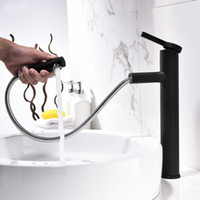 Pull Out And Rotatable Style Single Handle Basin Faucet Matt...