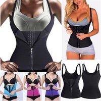 Sport Ingranaggio protettivo Sauna Sudore maglia della vita Coach signora Slim corpo Trimmer corsetto Esercizio Hot Yoga push Camicia
