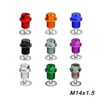M14 * P1.5MM motor de vestir de drenaje de aceite magnético tapón de drenaje del enchufe paquete sumidero de aceite para la mayoría de los coches con rosca M14 * P1.5MM