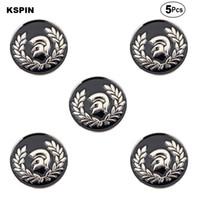 Trojan Casco broches Pin de la solapa de la bandera insignia Broche Pin 5pcs mucho