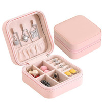 Travel Jewelry Box Organizer PU Leather Display Storage Case...