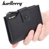 Baellerry العلامة التجارية محفظة الرجال جلد الرجال محافظ محفظة قصيرة الذكور مخلب جلد محفظة رجل حقيبة المال ضمان جودة عالية (التجزئة)