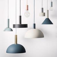 NEUE ANREISE NORDIC MUSIKE Pendelleuchte Bunte Loft Droplight DIY Design Lampe Makkaron Kronleuchter