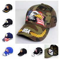 c0695ca141a Wholesale eagles hats for sale - USA eagle Baseball Cap Letter print Buns  hat Trucker Pony