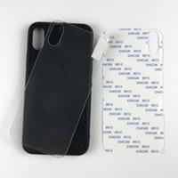 Großhandel UV druckt leere Acryl temperierten Glaskasten TPU + PC für UV DIY persönliche Druck für iPhone 11 pro max für Samsung A20