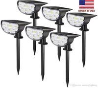 Best-venda de iluminação solar ao ar livre levou 14 LED painéis solares de energia Waterproof LED Jardim Luz parede de luz - Stock Em americanas