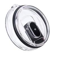 20 Unzen 30 Unzen Tumbler Lids Magnetic Slider Easy Clean Austauschbare Deckel Spill-Proof Shatter Resistant-Becher-Abdeckung Freies DHL