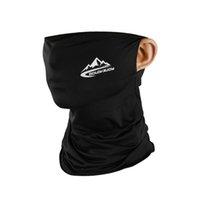 Sommer Radfahren halbe Gesichtsmaske kühles Eis Silk Outdoor Sport Schal Breath Radfahren Maske Anti-UV Facemask Fischen-Schutzausrüstung CCA12110