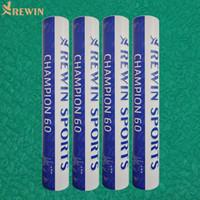 Campione 60 di alta qualità di volano badminton sfera
