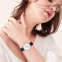 Watch Women New High Quality PU Watch Five-pointed Star Pattern Personalized Fashion montre femme horloges vrouwen