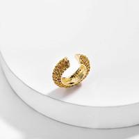 1 pc clipe brinco Cristal Jeweled Mini Orelha Cuff Geométrica C Forma EarClip Senhoras Moda Marca Mulheres Jóias
