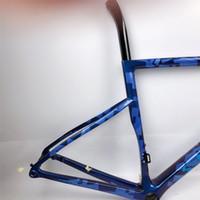 Travão de Disco Ultralight Road Bike Quadro de Carbono 825G Múltiplas Escolhas de Cor 700C Frameset de Carbono Thru Eixo 100 * 12 142 * 12mm