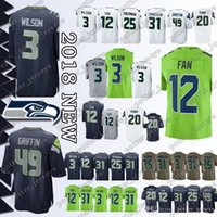 New Arrival. Cheap sales Seahawk Jerseys 49 Shaquem Griffin 3 Russell Wilson  ... f1eaa9ac6