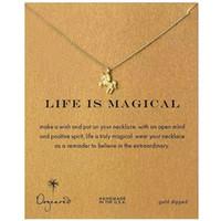Dogeared Choker ожерелье с картой Gold Silver ожерелье для женщин Моды ювелирных изделий LIFE IS MAGICAL 5969