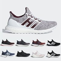 Adidas Ultra boost Mostra il tuo Stripes Blu ultra boost 4.0 IV Uomo donna Scarpe da corsa ultraboot Bianco Borgogna Noble Red Trainer runner Sport Sneakers 36-45
