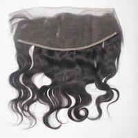 """Mama Aşk Güzellik Dantel Frontal Kapatma 13x4 Uzun Bakire Brezilyalı Yumuşak İnsan Saç Dalgalı 20 """"22"""" Düz Doku"""