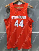 Cheap custom SYRACUSE ORANGE CUSE #44 NCAA BASKETBALL JERSEY...