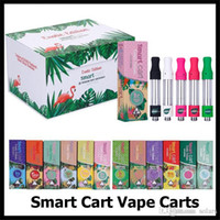 SmartCart Vape Cartuccia Exotic Edition 1.0ml Bobina in ceramica Smartbud Rosa Smart Carts Display scatola magnetica per olio spesso