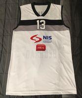 New Arrival.  13 Bogdan Bogdanovic Partizan Belgrade Serbia Retro Classic Basketball  Jersey Mens Stitched Custom Number and name Jerseys 2146c690c