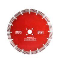 소결 손 톱날 9 인치 D230mm 핫 프레스 콘크리트 터보 세그먼트 절단 디스크 다이아몬드 절단 휠 10 개