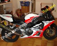 Für Honda CBR900RR 929 00 01 CBR 900RR 2000 2001 CBR900 929RR CBR 900 RR ABS Motorrad weißes rotes Verkleidungsset (Spritzgießen)