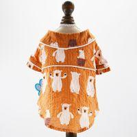 Kleiner Hund Katze Hemd Bier-Entwurf Hund Shirts Frühjahr / Sommer-Kleidungs-Kleid 5 Größen 2 Farben