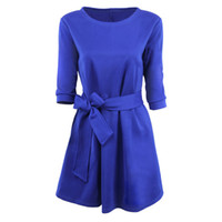 Designer Womens Luxury Party Dress sólido Vestidos Color Fashion Womens Magro roupa