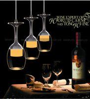 Moderna lámpara colgante creatuve cristal vino vino led araña techo luz barra tienda colgante luces pasillo hogar restaurante hotel iluminación
