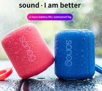 résistant aux intempéries Haut-parleurs Bluetooth sans fil Boombox boîte de son haut-parleur avec micro Tf Carte audio pour Camping Beach Pool Party Douche Tablet PC