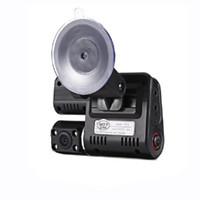 1 PC 1080p carro DVD com frente e traseira da câmera preto